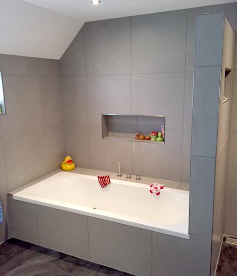 Opgeleverde badkamer Gameren foto 1