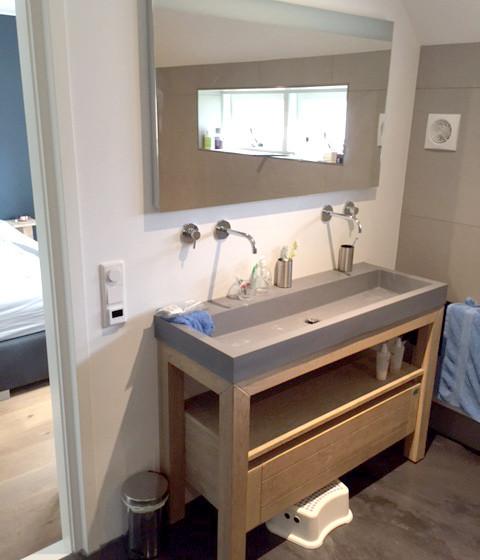 Opgeleverde badkamer Gameren foto 3
